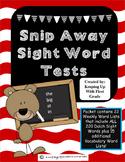 Snip Away Sight Words