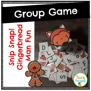 Snip Snap!! Gingerbread Man Group Game