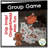 Snip Snap!! Gingerbread Man Group Game