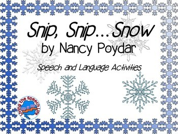 Snip, Snip...Snow Book Companion