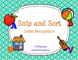 Snip and Sort Letter Recognition