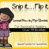 **Snip it .. Flip it: 38 Word Family Flip Books for Successful Reader