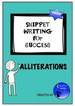 Snippet Writing for Success - Alliterations - (UK English spelling)