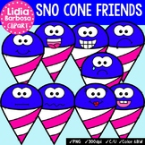 38 Sno Cone Friends- Digital Clipart