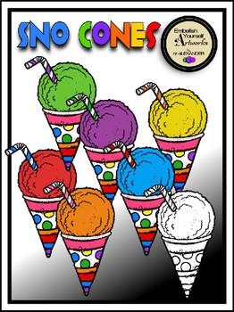 Sno Cones Clipart