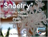 """Snoetry""- Writing Wintry Haiku and Cinquain Poetry"