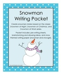 Snoman/Snowgirl Creative Writing Packet