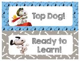 Snoopy Behavior Chart