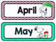 Snoopy Calendar (Monthly Headers and Number Cards)