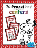 Center Signs Snoopy Charlie Brown The Peanuts Gang Theme Inspired