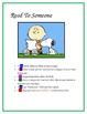 Snoopy Daily Five I CAN statements Editable