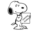 Snoopy Learning Scale