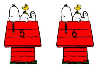 Snoopy Locker Signs
