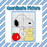 Back to School Fun Coordinate Grid Graphing - 2 Versions,