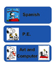 Snoopy Subject Labels