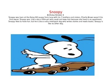 Snoopy Theme slideshow