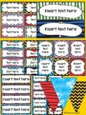 Snoopy Classroom Themes (Editable Labels)