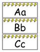 Snoopy Themed Alphabet Word Wall Cards with Bonus Alphabet