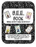BEE binder (Peanuts Themed)