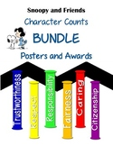 Snoopy Themed Character Counts Bundle