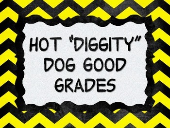 Snoopy Themed Grading Scale