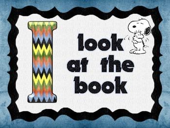 Snoopy Themed IPick Chart