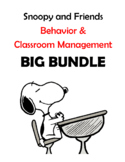 Snoopy and Friends Classroom Management Big Bundle