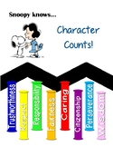 Snoopy and Peanuts Gang : Character Counts Posters