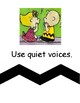 Snoopy and the Peanuts Gang Classroom Rules