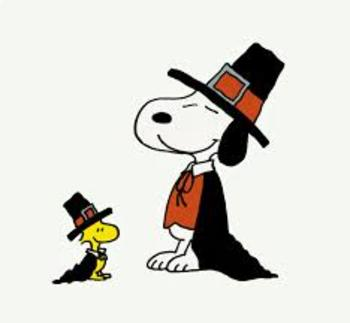 Snoopy's Thanksgiving Table - STEM
