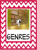 Snoopy theme Non-fiction genre signs