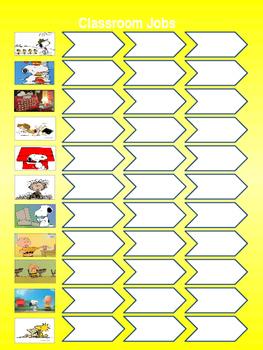 Snoopy theme class jobs
