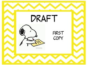 Snoopy theme writing process steps