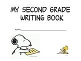 Snoopy theme year long writing- 2nd grade