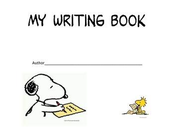 Snoopy theme year long writing- Any grade