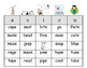 Snoopy themed Long Vowel Bingo