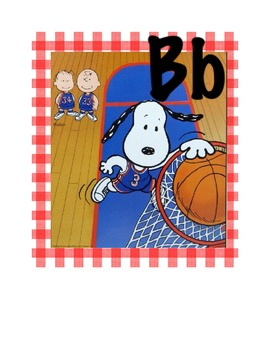 Snoopy's Alphabet Cards
