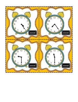 Snooze O'Clock Digital Clocks Game