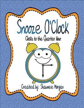 Snooze O'Clock Quarter Hour Clocks Game