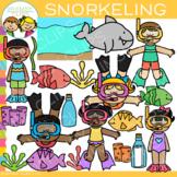 Snorkeling Clip Art