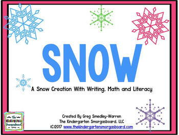 Snow!  A Winter Math & Literacy Unit!