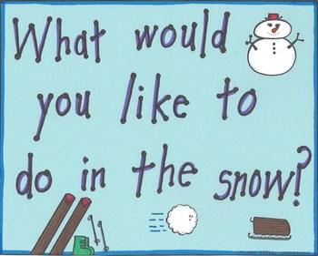 Snow Activities Graph