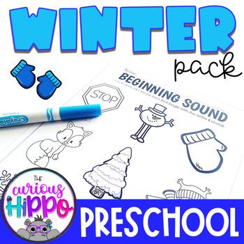 Preschool Winter Pack
