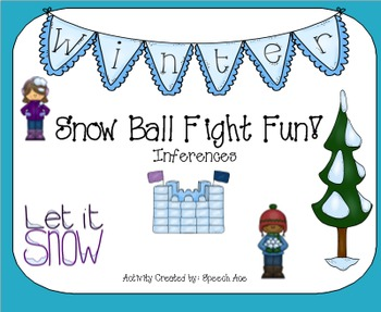 Snow Ball Fight - Inferences
