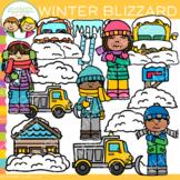 Snow Blizzard Clip Art