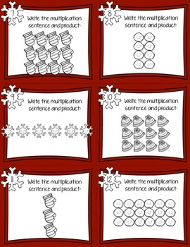 Multiplication and Arrays Task Cards