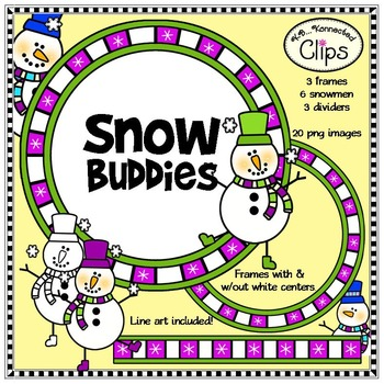 Snow Buddies - Clip Art
