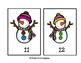Snow Buddies Counting Mats