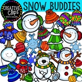 Snow Buddies Winter Clipart {Creative Clips Clipart}