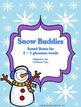 Snow Buddies Sound Box Freebie